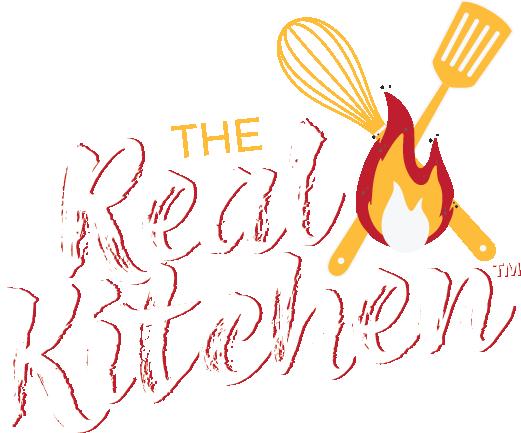 Real Kitchen Logo White